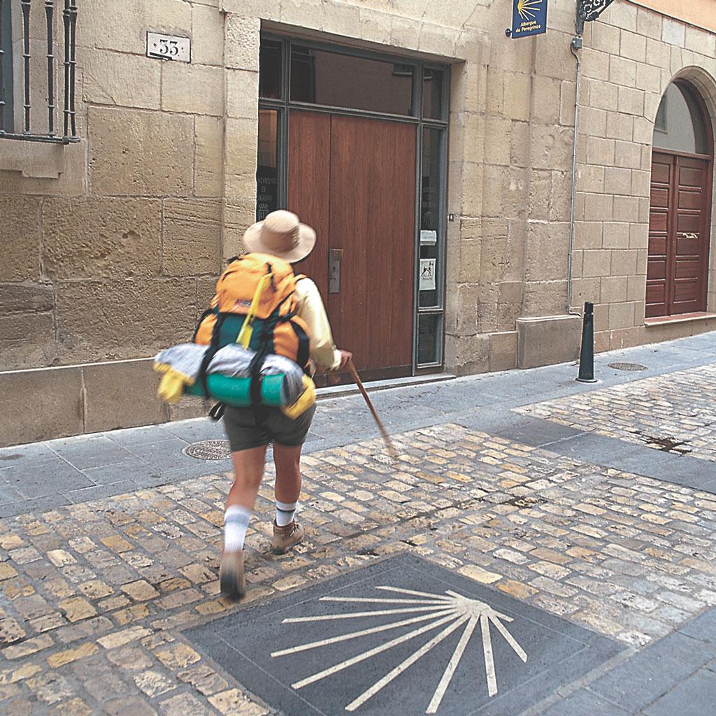 Camino-de-Santiago-Albergue-de-peregrinos-en-La-Rioja